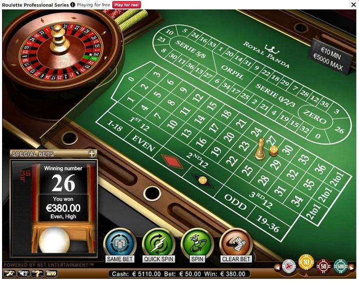 roulette spelen kroon casino